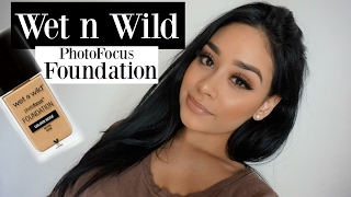 wet n wild photo focus foundation first impression review