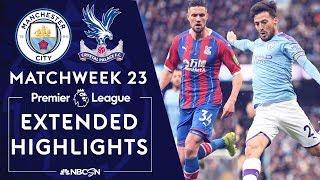 Man City v. Crystal Palace | PREMIER LEAGUE HIGHLIGHTS | 1/18/2020 | NBC Sports