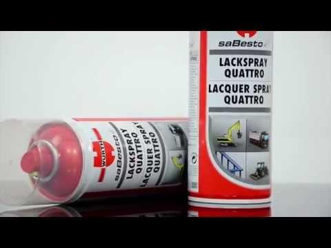 Lacquer Spray Quattro