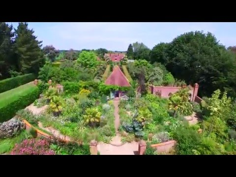 Aerial View Photography - East Ruston Old Vicarage Gardens