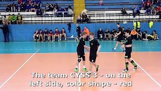 U15 boys. Group M02 gr 2 (P-B). Lajkonik cup 2017. CYSS 3 (UKR) - MKS MOS Wroclaw - 18:16 (2nd half)