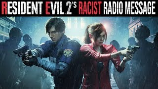 Why Game Journalists are Offended by Resident Evil 2's Radio Message