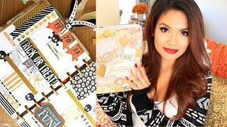 Decorate Your Planner With Me: The Happy Planner Halloween Edition | Belinda Selene