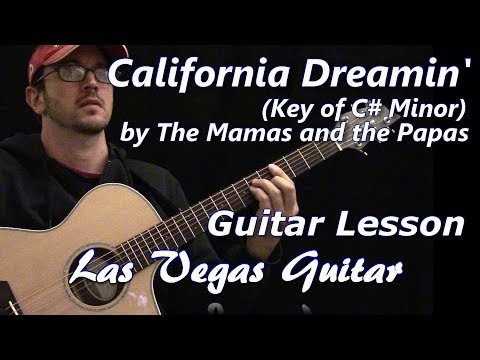 California Dreamin' by The Mamas and the Papas Guitar Lesson
