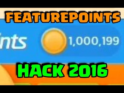 FEATURE POINTS HACK 2016 100% WORKING (IOS AND ANDROID) FREE CODES