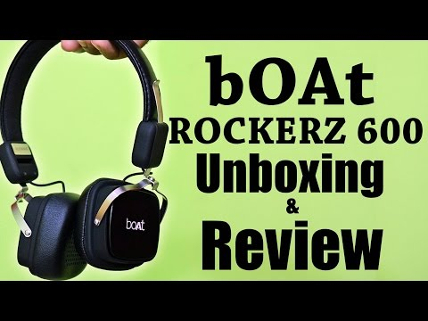 Boat ROCKERZ 600 Unboxing and Quick Review
