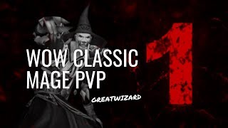 GREATWIZARD 1 🔥 WoW Classic Mage PvP