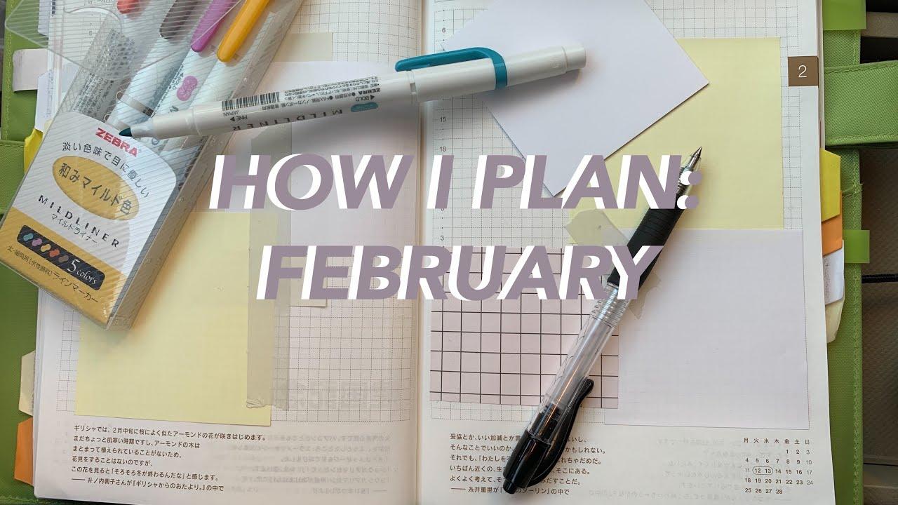 Planner Setup February 2019 :)