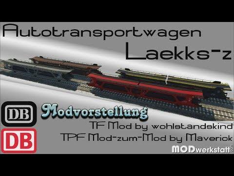 Transport Fever - MzM Laekks-z Autotransporter [Modvorstellung]