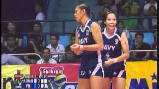 Ateneo vs Philippine Navy 092311 Televise Set 1 Part 1