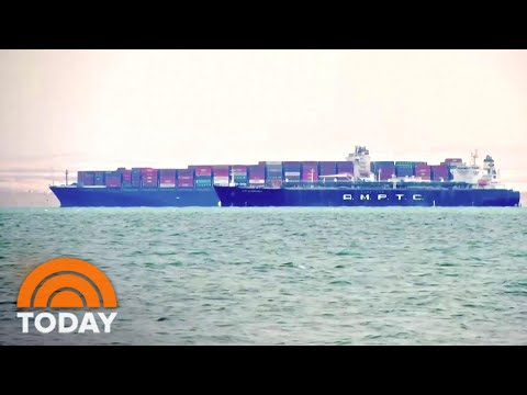 Suez Canal Reopens After Massive Cargo Ship Is Freed | TODAY