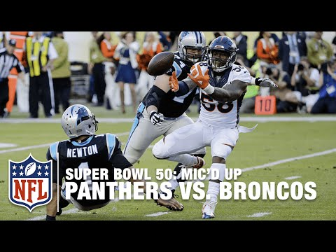 Panthers vs. Broncos: Super Bowl 50 | First Half Mic'd Up Highlights | Inside the NFL