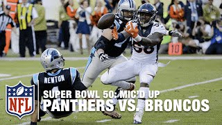 panthers vs broncos super bowl 50 first half micd up highlights inside the nfl