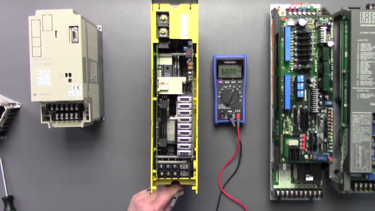 Troubleshooting AC Servo Drives on