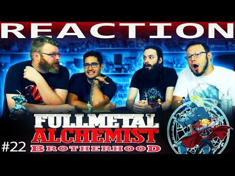 "Fullmetal Alchemist: Brotherhood Episode 22 REACTION!! ""Backs in the Distance"""