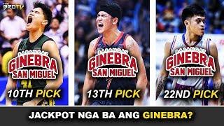 Isa sa Pinakamagandang Draft Pick ng Ginebra! | Naka-steal sa Draft? | Super Talented Rookies!