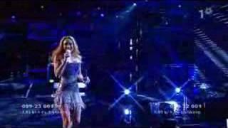 SWEDEN - Eurovision 2008 - Charlotte Perelli - HERO