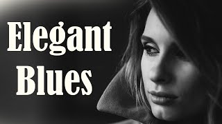 Elegant Slow Blues - Exquisite Mood Blues Electric Guitar and Piano Background Music