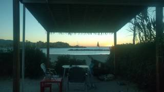 Sonnenaufgang am Camp du Domaine / Bormes les Mimosas