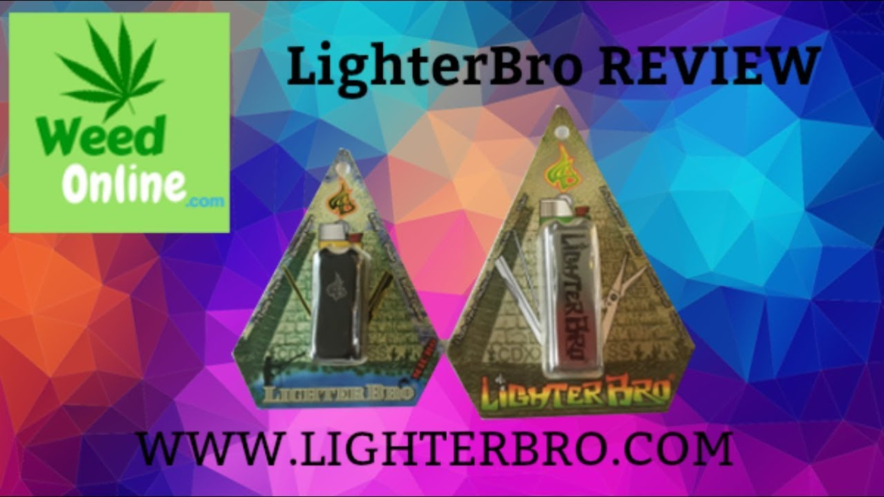 LighterBro Lighter & Multi-Tool Full Review & Smoke Session - WeedOnline.com