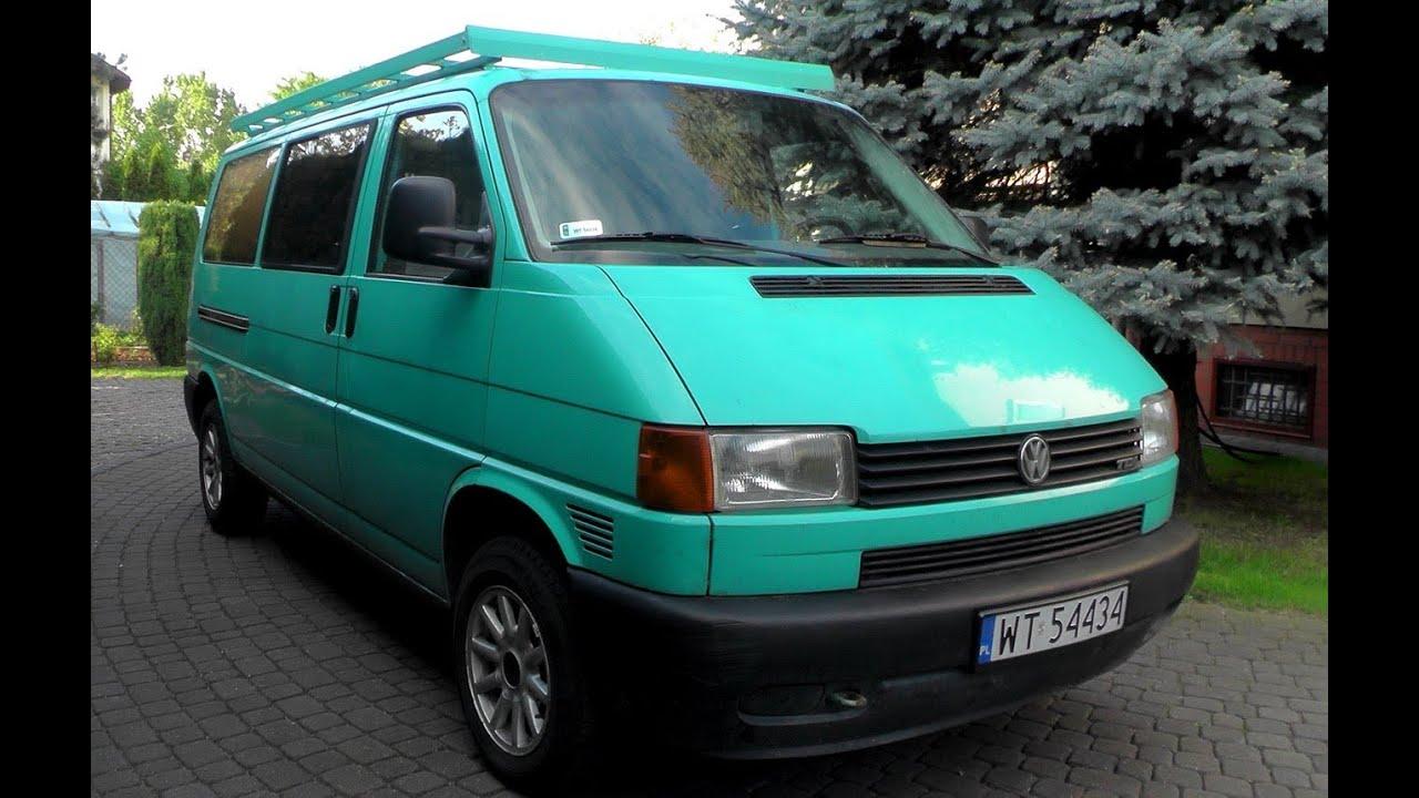 Volkswagen Transporter T4 25 Tdi Silnik Wnętrze Nadwozie Dźwięk Wydechu