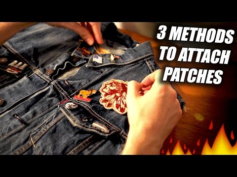 Quick Thrift Fix #1 How to Customize Pieces with Patches! DIY and In Depth Tutorial!