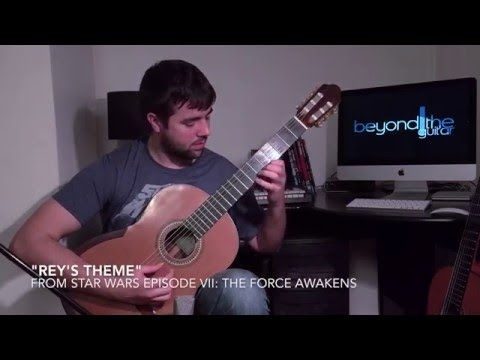 Star Wars: The Force Awakens - Rey's Theme - Guitar Cover