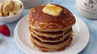 Whole Wheat Pancake | How To Make Healthy Pancakes