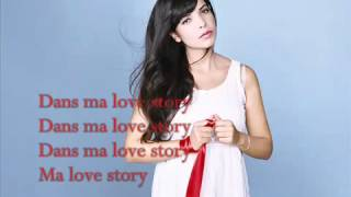 Indila  Love Story ♪ Lyrics