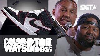 "Karl Kani Reviews Air Jordan 1 Retro High OG ""Gym Red"" At BETX! | Colorways & Toeboxes"
