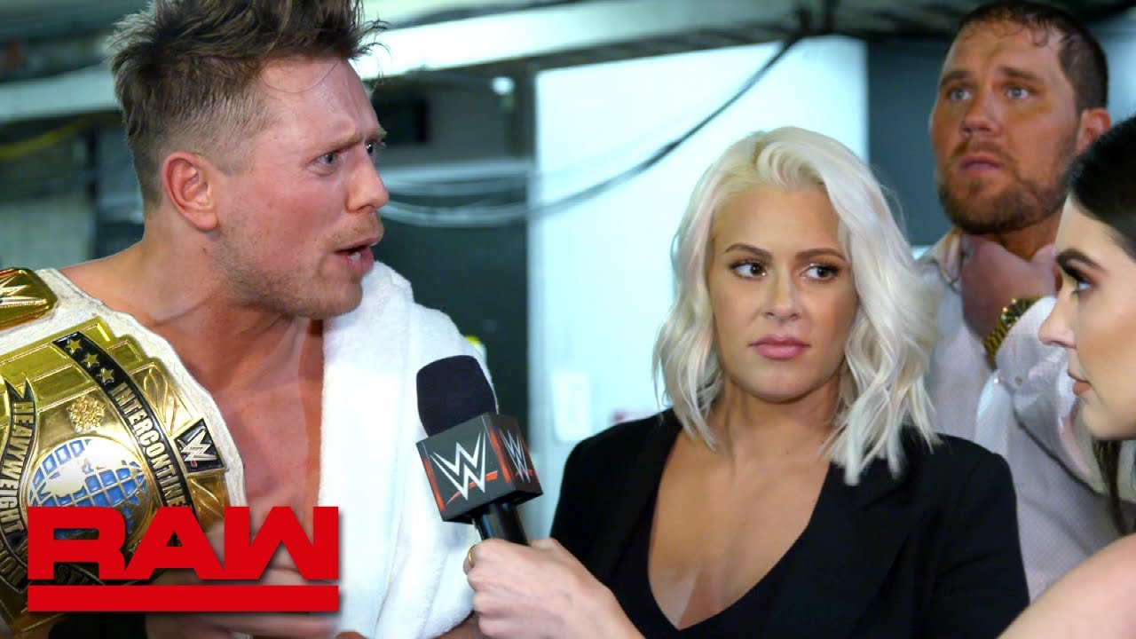 The Miz continues to feel disrespected: Raw Exclusive, Feb. 26, 2018