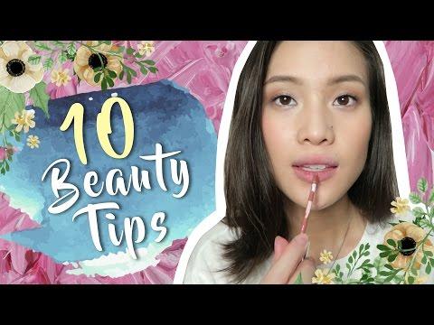 10 Beauty Tips (Candy Magazine!) | #LessonsByMara