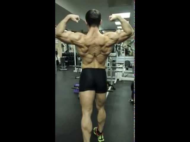 Natural aesthetics bodybuilding: the Shredder's time is coming up. :))
