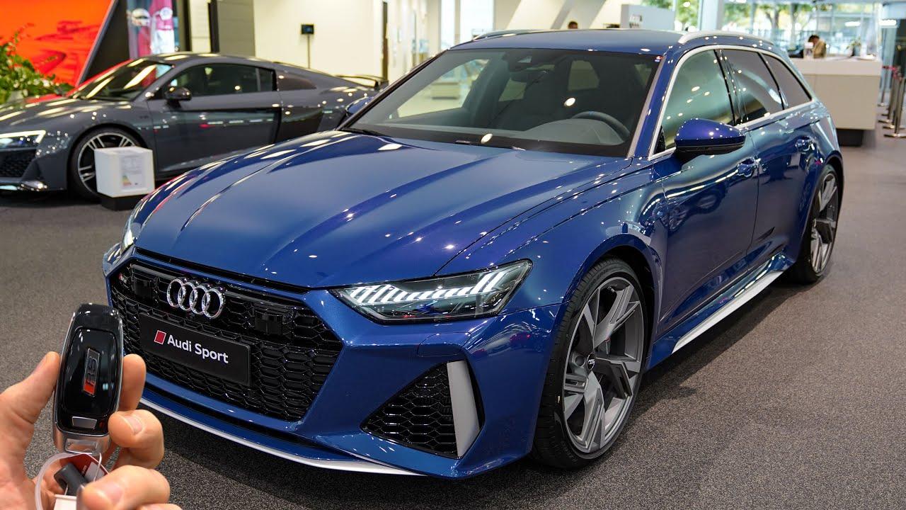2021 Audi RS6 Avant (600hp) tiptronic - Sound & Visual ...