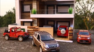 Unboxing of Mini Mahindra Collection Diecast Cars with LED   Giveaway   Accessories by Mahindra Rise