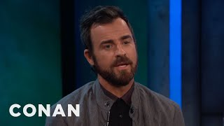 "Justin Theroux's ""LEGO Ninjago"" Voice Was Inspired By Will Arnett  - CONAN on TBS"