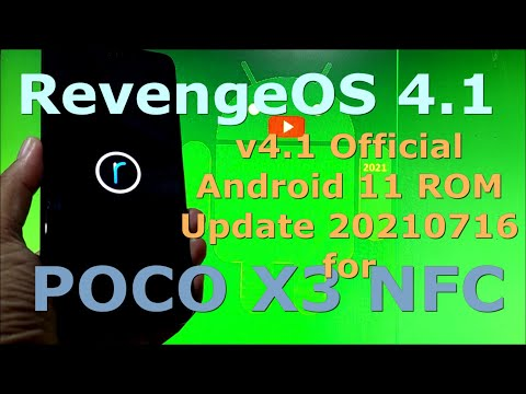 RevengeOS 4.1 Official for Poco X3 NFC (Surya) Android 11