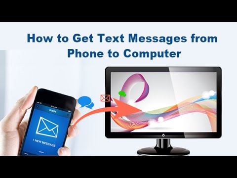 How to Get Text Messages from Phone to Computer - YouTube