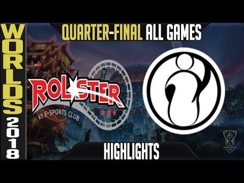 KT vs IG Highlights ALL GAMES | Worlds 2018 Quarter-Final | KT Rolster vs Invictus Gaming
