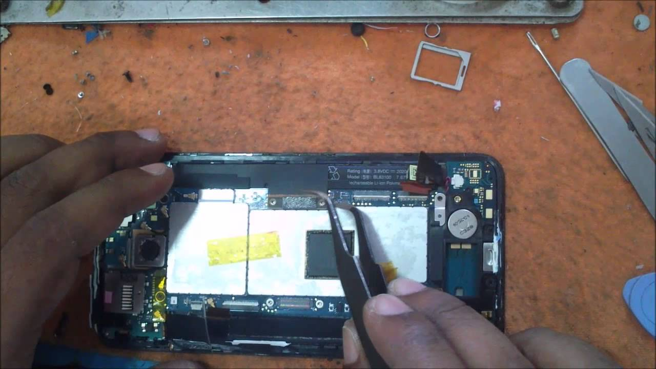 HTC Butterfly Battery MIC Audio Connect Removal