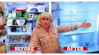 😱WHAT'S GOING ON IN THAT REFRIGERATOR | Actual Messy House Clean with Me! Jamerrill Stewart Cleaning