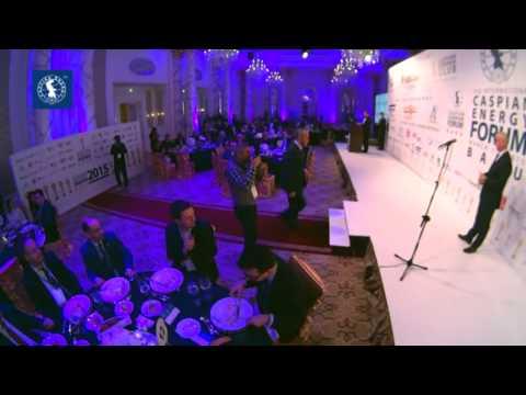 Cəlil Cəfərov - Caspian Energy Award 2015 Baku