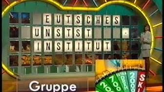 Glücksrad - 1996 - Viel Spaß und hohe Gewinne!