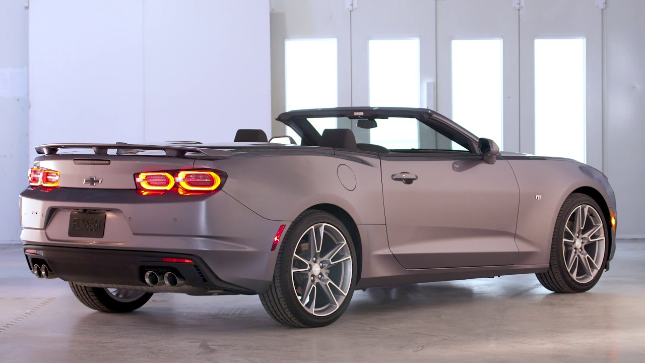 2019 Chevy Ss >> 2019 Chevrolet Camaro Convertible RS | Facelift - YouTube