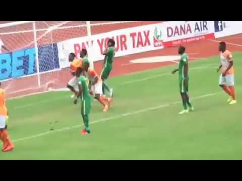 Akwa United 3 - 0 Kano Pillars Highlights : NPFL 2019