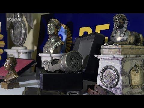Argentine: 75 objets nazis découverts