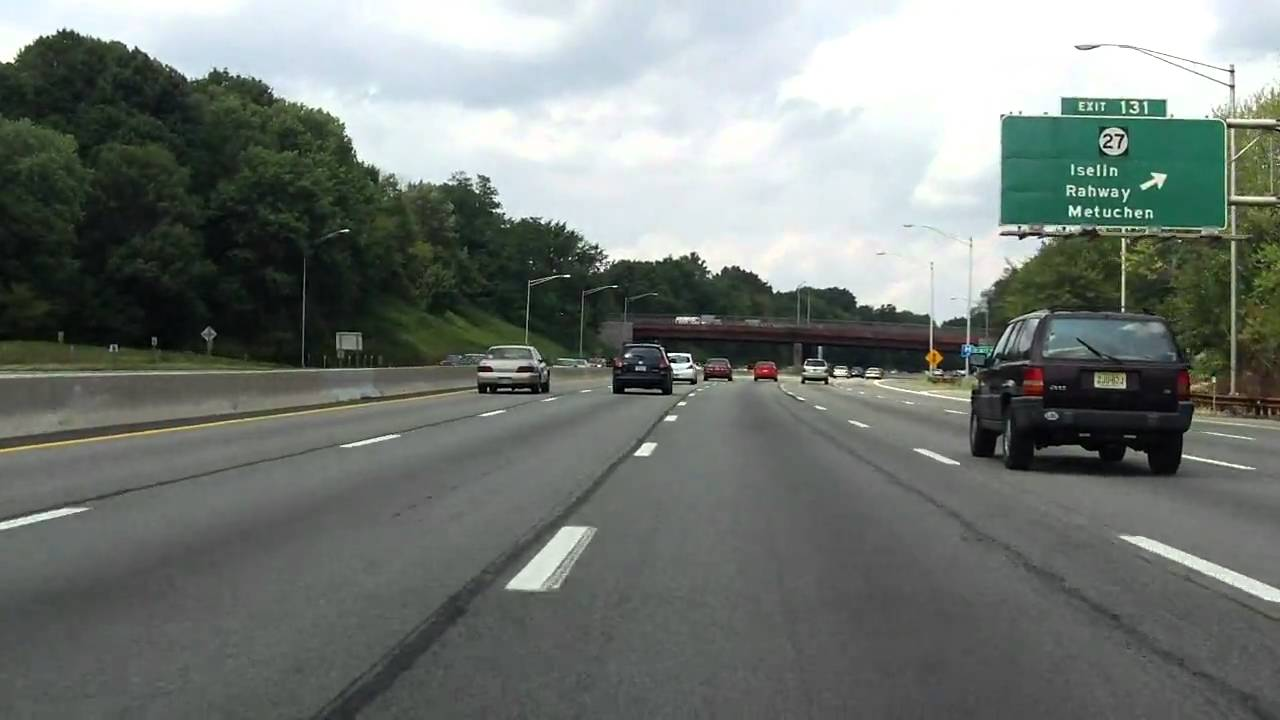 Garden State Parkway Exits 129 To 135 Northbound Youtube