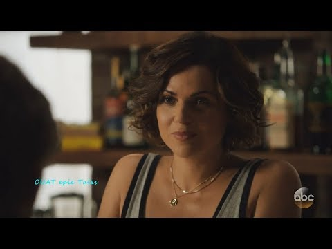 Once Upon A Time 7x02 Roni not Scared by Weaver - Gives Hint to Rogers Season 7 Episode 2