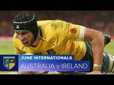 2018 June Test Series: First test – Australia v Ireland