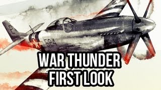 War Thunder (Free Action MMO): Watcha Playin'? Gameplay First Look
